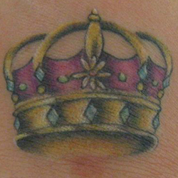 Tattoo of crown