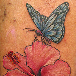 tattoo of a butterfly